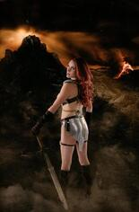 Red Sonja: Age Of Chaos (2020) #2 Variant I: Incentive Shannon Kingston Cosplay Photo Virgin Cover