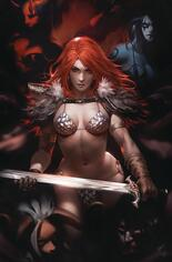 Red Sonja: Age Of Chaos (2020) #2 Variant N: Limited Edition Virgin Cover