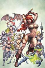 Red Sonja: Age Of Chaos (2020) #2 Variant P: Limited Edition Virgin Cover
