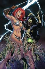 Red Sonja: Age Of Chaos (2020) #2 Variant Q: Limited Edition Virgin Cover