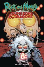 Rick And Morty Vs Dungeons & Dragons Chapter II Painscape #TP Vol 2