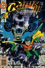 Robin III: Cry of the Huntress #1 Variant D: Newsstand Edition