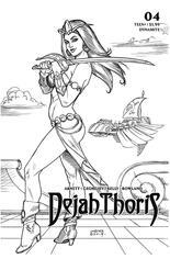 Dejah Thoris (2019-2020) #4 Variant H: Incentive Black & White Cover