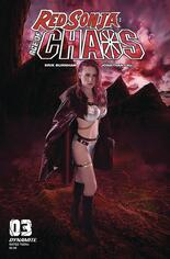 Red Sonja: Age Of Chaos (2020) #3 Variant E: Shannon Kingston Cosplay Photo Cover