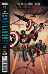 Generations Captain Americas #1 Variant D: 2nd Printing