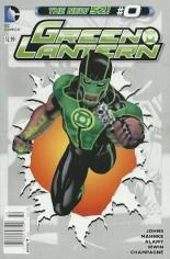 Green Lantern (2011-2018) #0 Variant A: Newsstand Edition