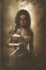 Niobe: She Is Death #1 Variant L: Trinity Comics Spot Color C2E2 Virgin Exclusive