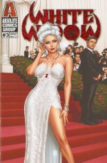 White Widow #3 Variant K: Kickstarter Red Carpet Edition