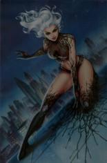 White Widow #3 Variant U: Kickstarter Dawn Risque Metal Edition