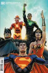 Justice League (2018-2021) #44 Variant B