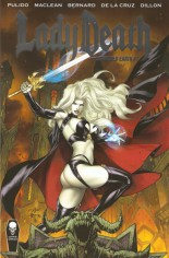 Lady Death: Scorched Earth #1 Variant A: Kickstarter Premiere Edition