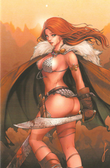 Red Sonja: Age Of Chaos (2020) #4 Variant ZB: Unknown Comic Books Exclusive