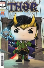 Thor (2020-2021) #1 Variant W: Previews Exclusive Funko Variant