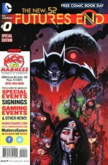 New 52: Futures End (2014-2015) #0 Variant D: Free Comic Book Day 2014; Madness Games & Comics Exclusive