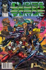 Cyberforce (1992-1993) #1 Variant D: Newstand