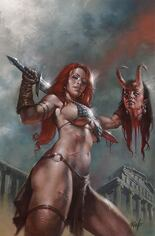 Red Sonja: Age Of Chaos (2020) #3 Variant X: Limited Edition Virgin Cover