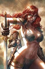Red Sonja: Age Of Chaos (2020) #3 Variant Y: Limited Edition Virgin Cover