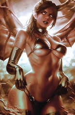 Red Sonja: Age Of Chaos (2020) #4 Variant K: 50 Copy Incentive Monochromatic Virgin Cover