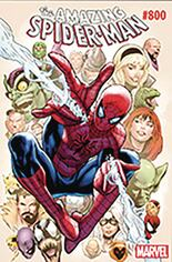 Amazing Spider-Man (2017-2018) #800 Variant ZZA: DF Signed By Greg Land