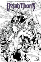 Dejah Thoris (2019-2021) #6 Variant M: Incentive Black & White Cover