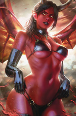 Red Sonja: Age Of Chaos (2020) #4 Variant O: Limited Virgin Cover