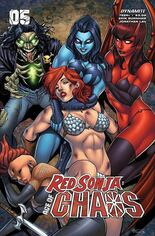 Red Sonja: Age Of Chaos (2020) #5 Variant C