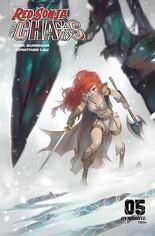 Red Sonja: Age Of Chaos (2020) #5 Variant Q: Bonus FOC Variant Cover