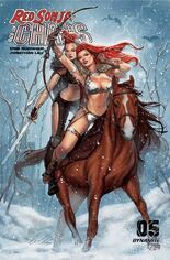 Red Sonja: Age Of Chaos (2020) #5 Variant R: Bonus FOC Variant Cover