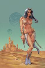 Dejah Thoris (2019-2021) #6 Variant T: Limited Edition Virgin Cover
