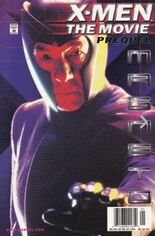 X-Men: The Movie Prequel - Magneto (2000) #1 Variant B: Newsstand Edition; Photo Cover