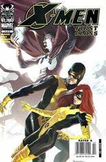 X-Men: First Class (2006-2007) #4 Variant A: Newsstand Edition