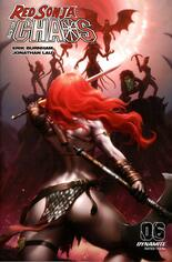 Red Sonja: Age Of Chaos (2020) #6 Variant F: 10 Copy Incentive Cover