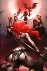 Red Sonja: Age Of Chaos (2020) #6 Variant H: 25 Copy Incentive Virgin Cover