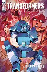Transformers Galaxies #8 Variant A