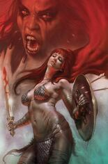 Red Sonja: Age Of Chaos (2020) #5 Variant L: Limited Edition Virgin Cover