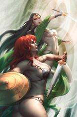 Red Sonja: Age Of Chaos (2020) #5 Variant O: Limited Edition Virgin Cover