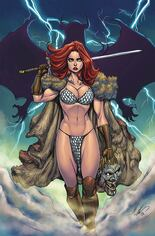 Red Sonja: Age Of Chaos (2020) #6 Variant U: Limited Virgin Cover