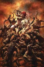 Red Sonja: Age Of Chaos (2020) #6 Variant T: Limited Virgin Cover