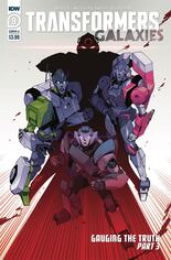 Transformers Galaxies #9 Variant A