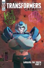 Transformers Galaxies #9 Variant B
