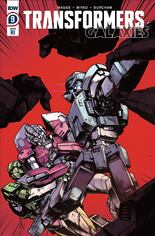 Transformers Galaxies #9 Variant C: 10 Copy Incentive Cover