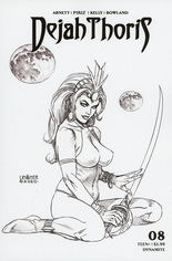 Dejah Thoris (2019-2020) #8 Variant G: Incentive Black & White Cover