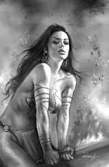 Dejah Thoris (2019-2020) #8 Variant K: Incentive Black & White Virgin Cover
