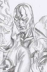 Fantastic Four: Antithesis #2 Variant D: Timeless Silver Surfer Virgin Sketch Cover