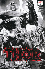 Thor (2020-2021) #6 Variant E: 2nd Printing; Incentive Sketch Cover