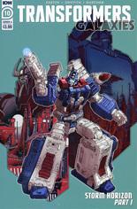 Transformers Galaxies #10 Variant A
