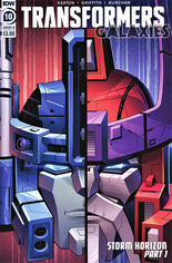 Transformers Galaxies #10 Variant B