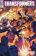 Transformers Galaxies #10 Variant C: 10 Copy Incentive Cover