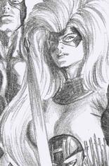 Fantastic Four: Antithesis #3 Variant D: Incentive Timeless Medusa Virgin Sketch Cover