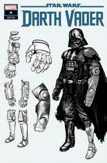 Star Wars: Darth Vader (2020-2021) #9 Variant C: Concept Design Cover